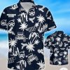Jeep Navy Palm Tree Hawaiian Shirtz