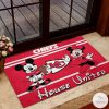 Kansas City Chiefs House United Mickey Mouse And Minnie Mouse Doormatz