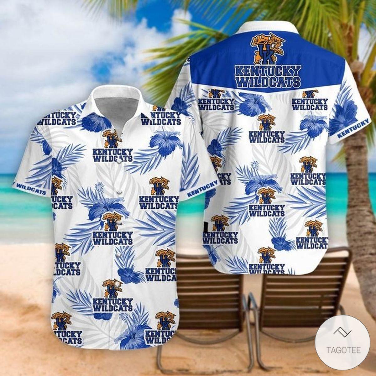 Kentucky Wildcats Hawaiian Shirt