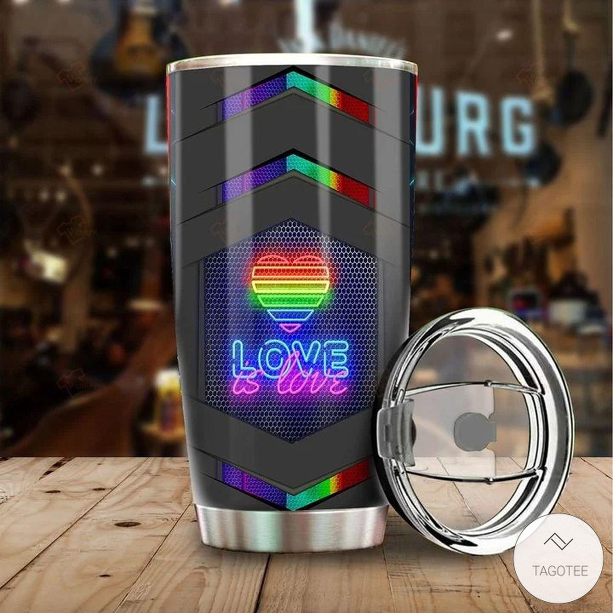 LGBT Love Is Love Tumblerz