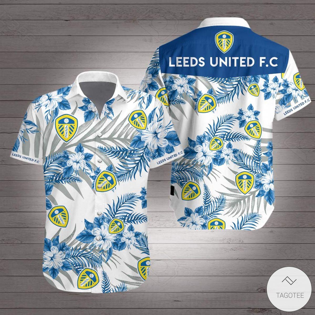 Only For Fan Leeds United FC Hawaiian Shirt