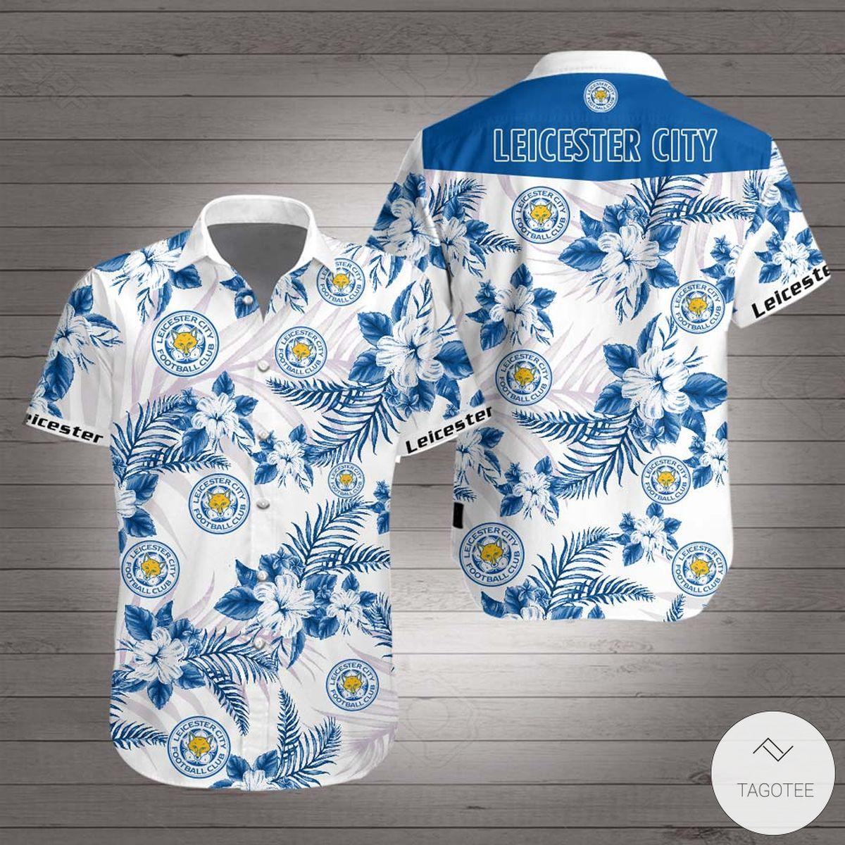 Adorable Leicester City F.C Hawaiian Shirt