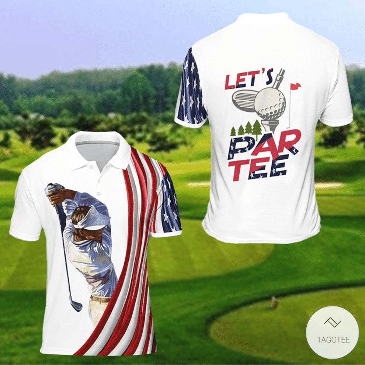 Let's Par Tee Golf Polo Shirt