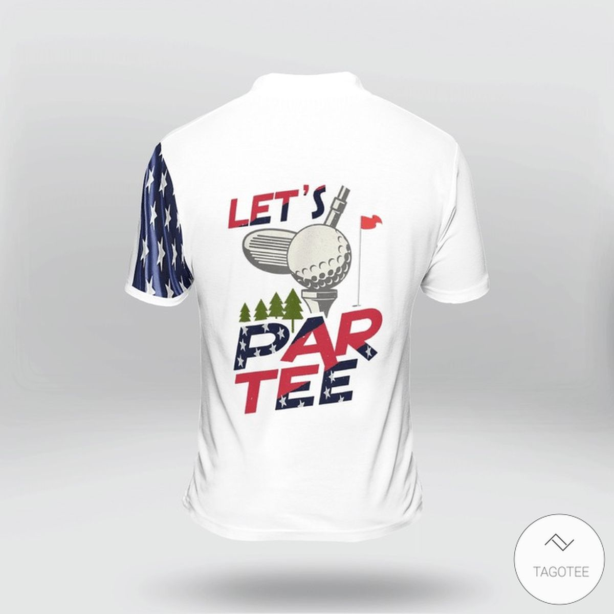 Let's Par Tee Golf Polo Shirtz