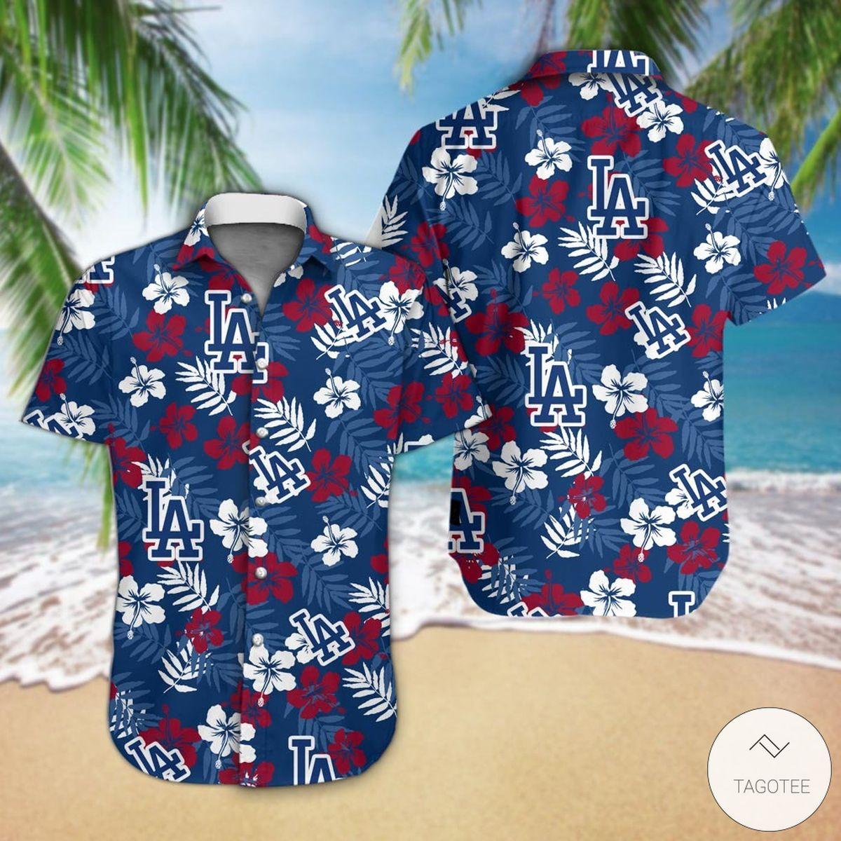 Los Angeles Dodgers Hawaiian Shirt