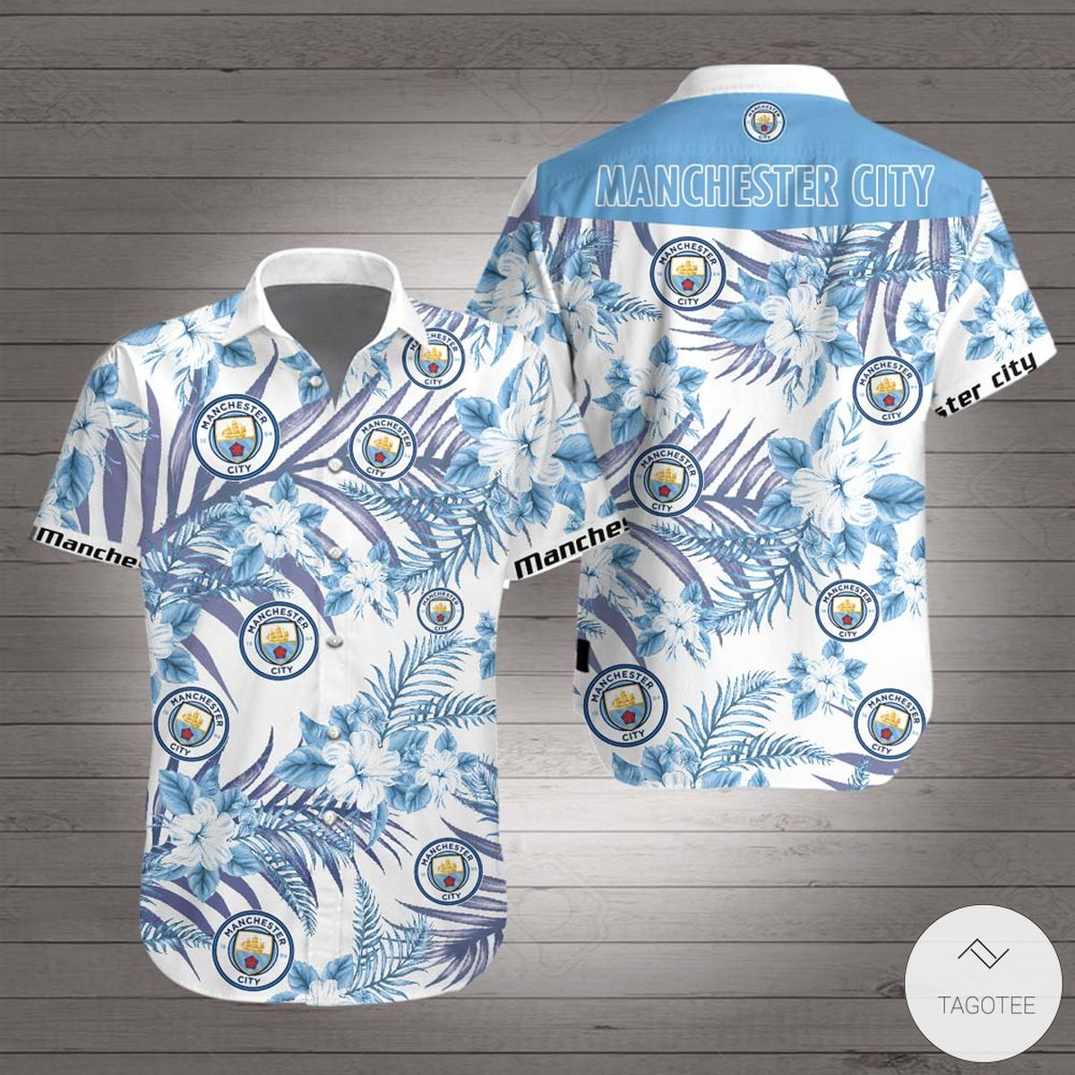 Manchester City F.C Hawaiian Shirt