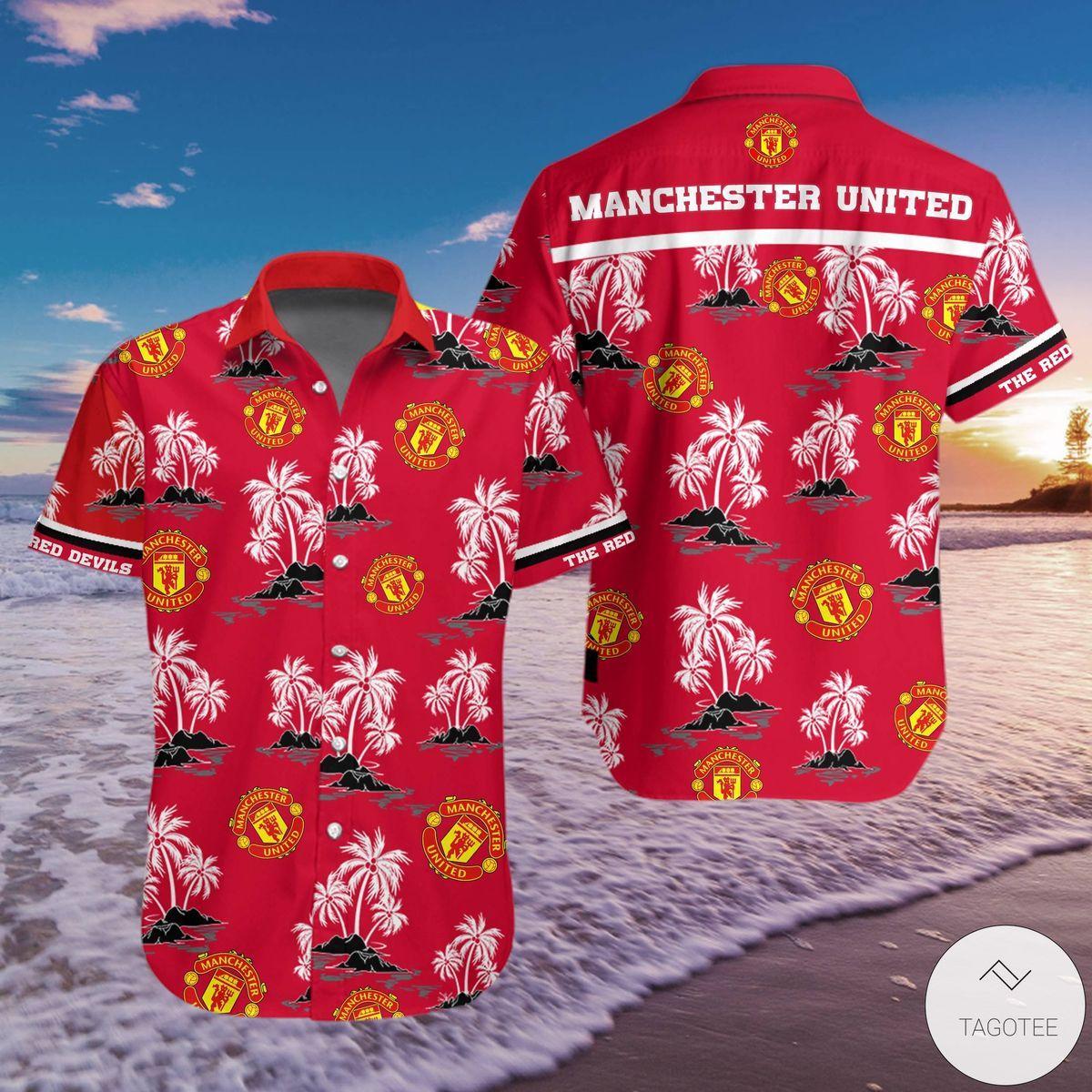 Where To Buy Manchester United Hawaiian Shirt
