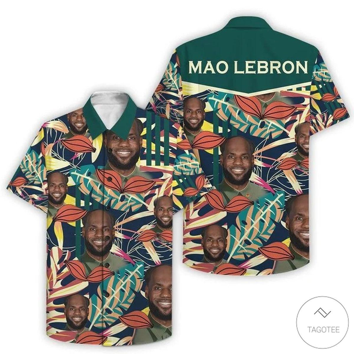 Mao Lebron Hawaiian Shirt