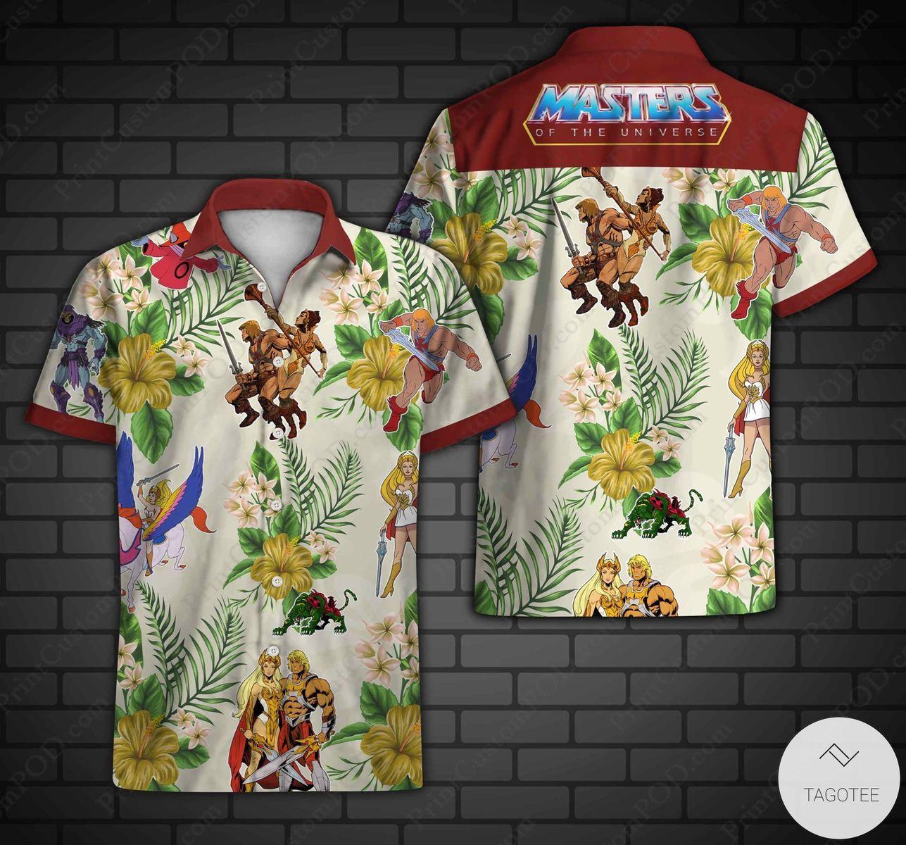 Great artwork! Masters Of The Universe Hawaiian Shirt