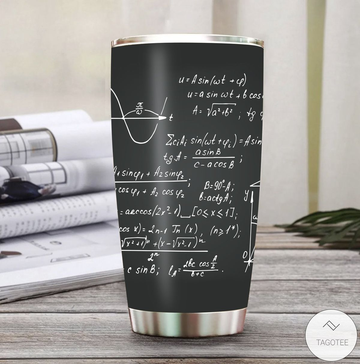 Math Formulas Tumbler