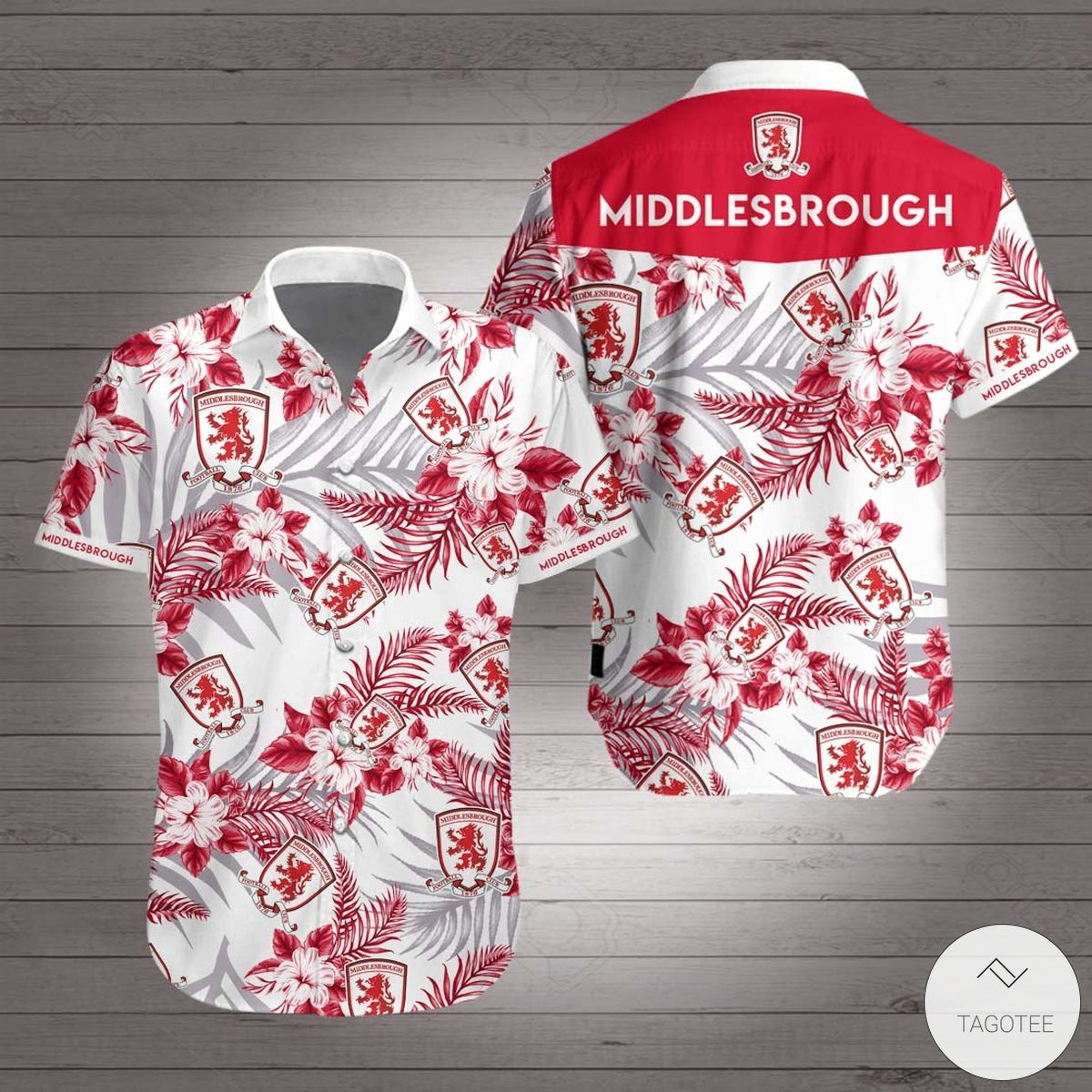 Middlesbrough F.C Hawaiian Shirt