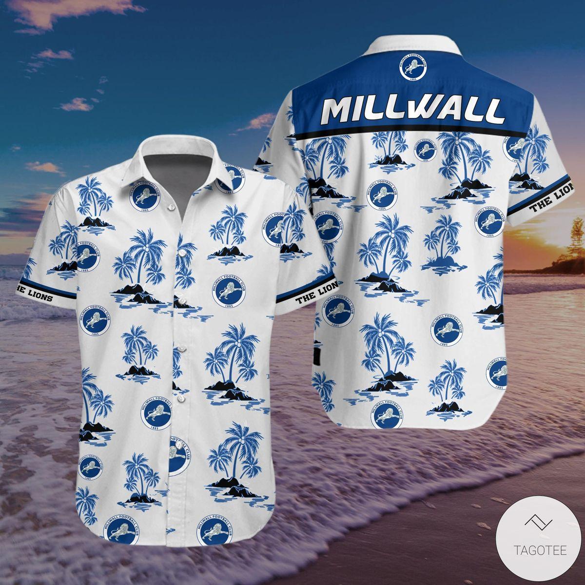 Millwall F.C Hawaiian Shirt