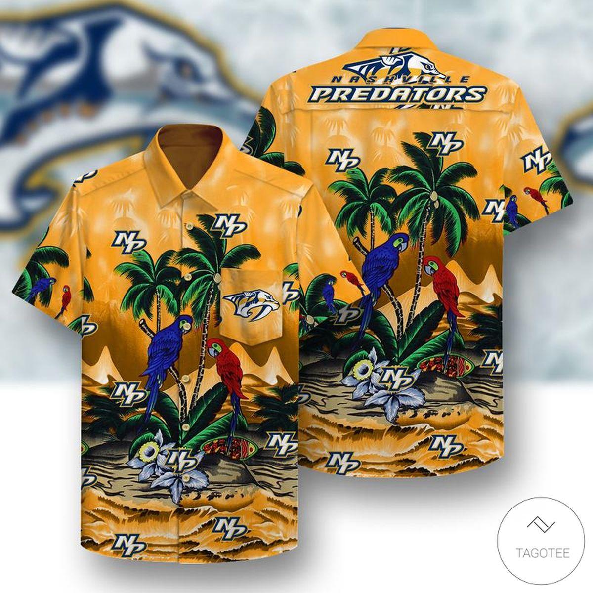 Nashville Predators Hawaiian Shirt