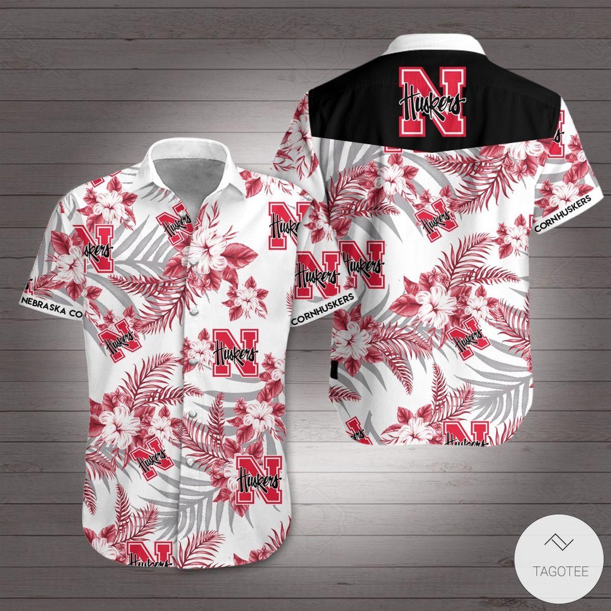Nebraska Cornhuskers football Hawaiian Shirt