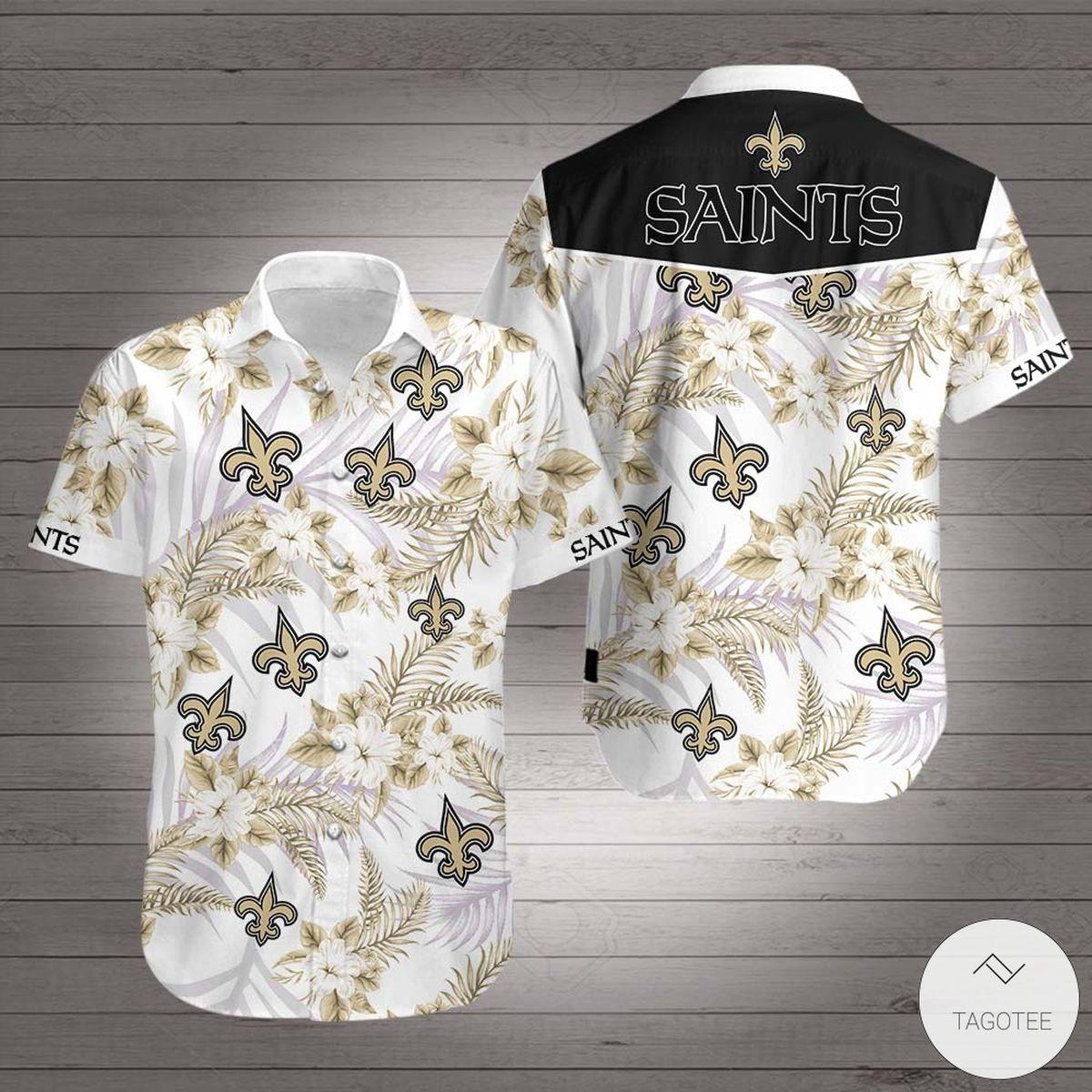 Perfect New Orleans Saints Hawaiian Shirt