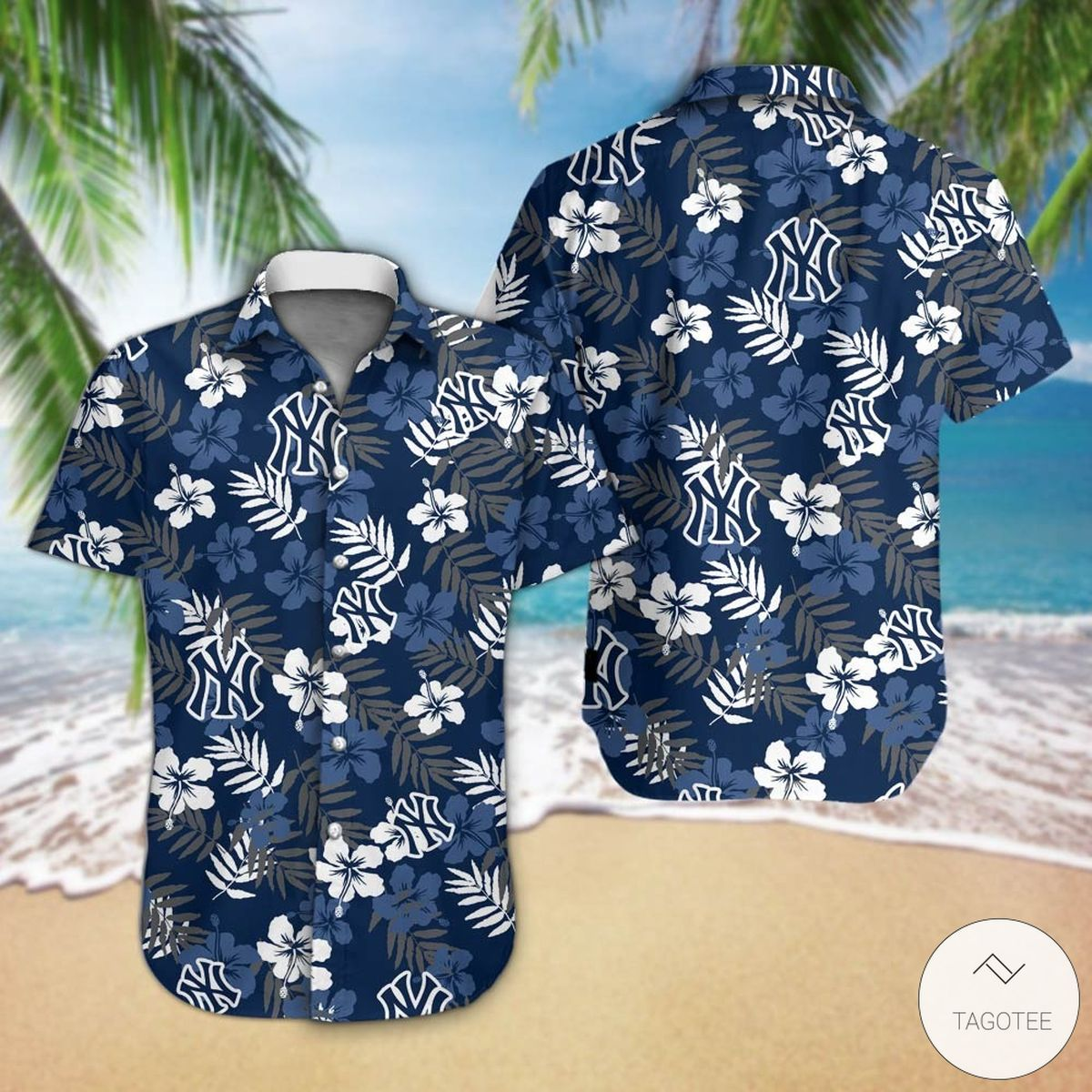 New York Yankees Hawaiian Shirt
