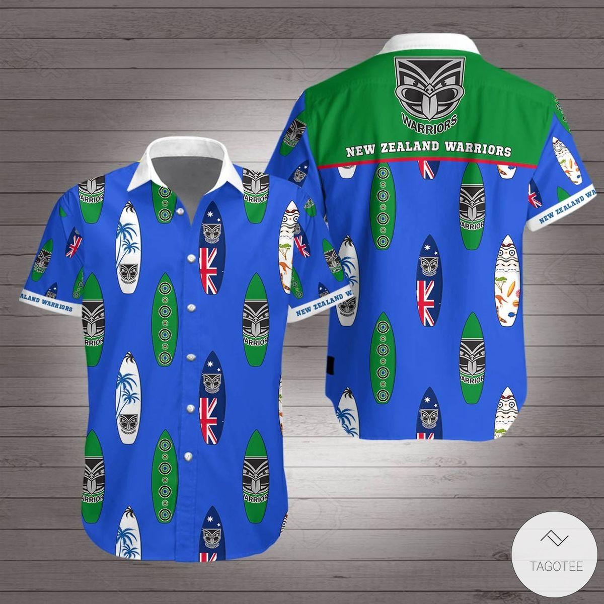 New Zealand Warriors Hawaiian Shirt