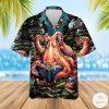 Octopus Read Books Hawaiian Shirt