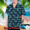 Personalized Car Picture Tropical Hawaiian Shirt
