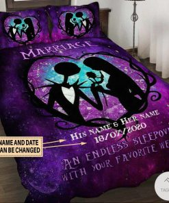 Personalized Marriage An Endless Sleepover With Your Favourite Weirdo Bedding Set