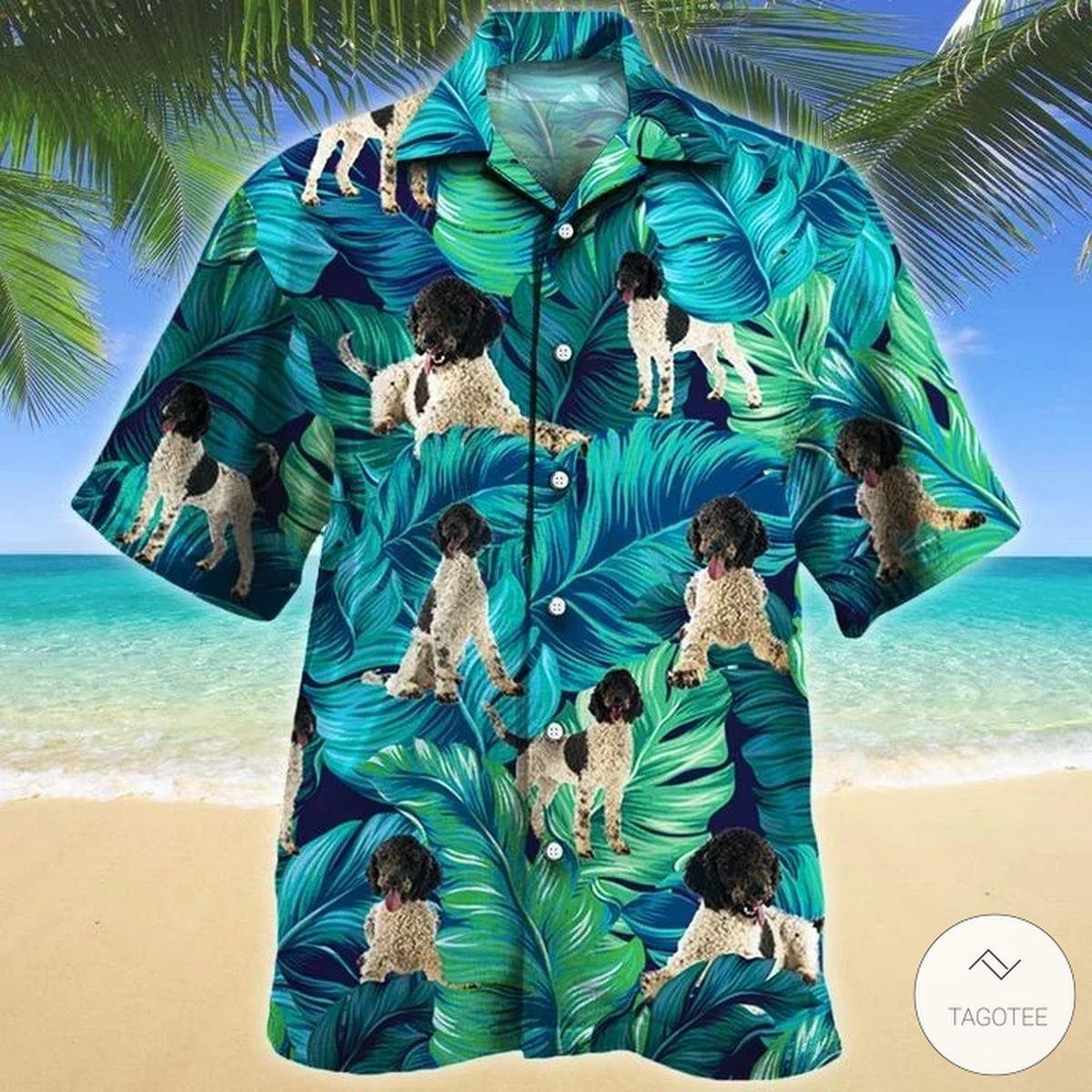 Portuguese Water Dog Hawaiian Shirt