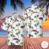 Powered Paragliding Hawaiian Shirt, Beach Shorts
