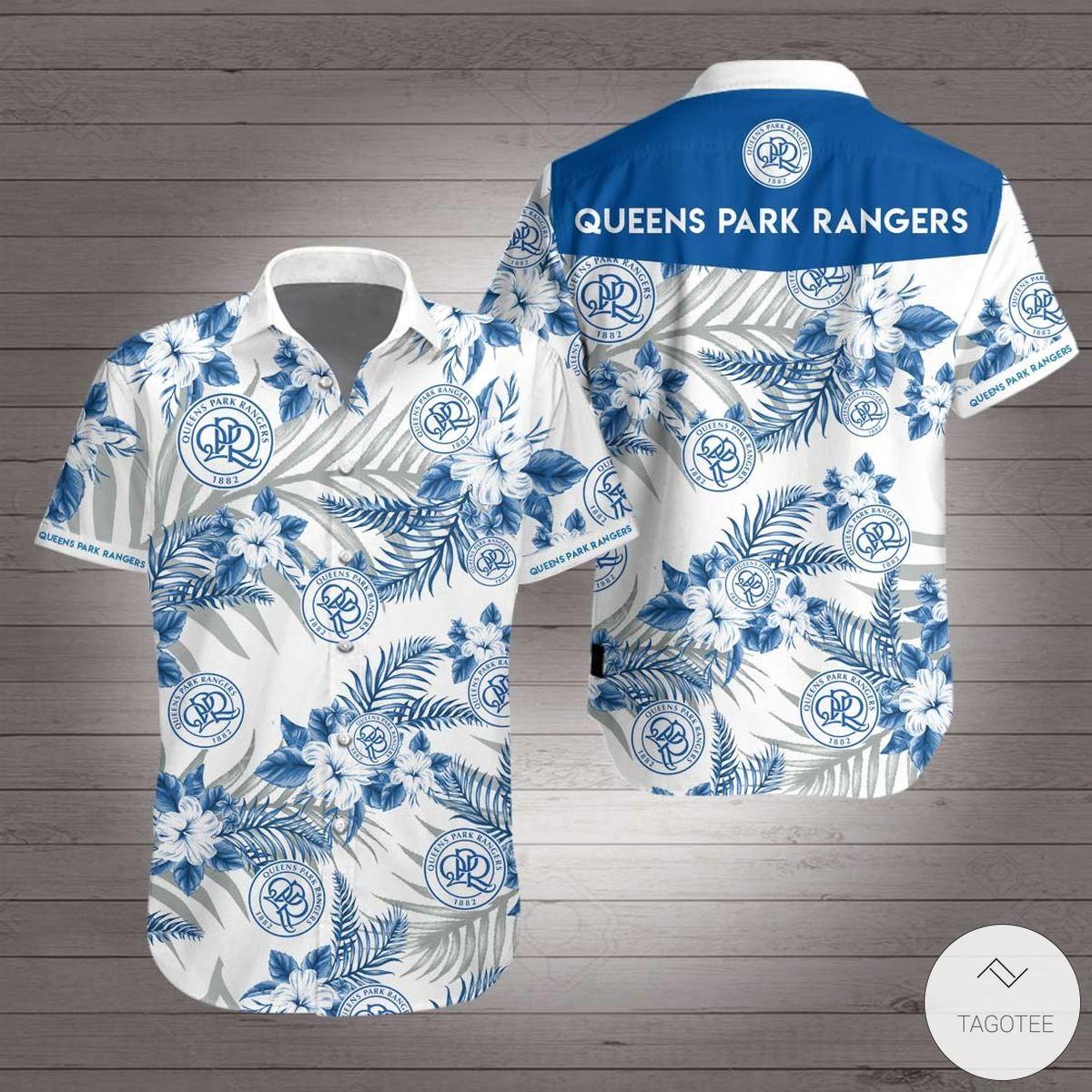 Queens Park Rangers F.C Hawaiian Shirt