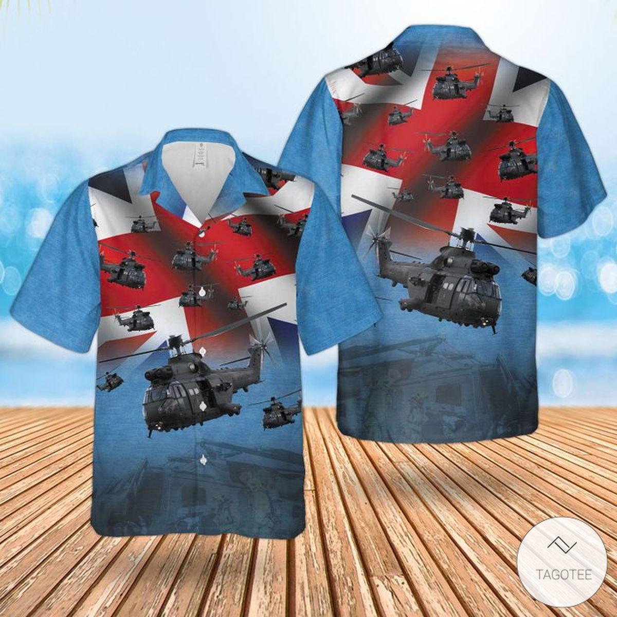 Absolutely Love RAF The Puma Hc Mk2 Hawaiian Shirt, Beach Short