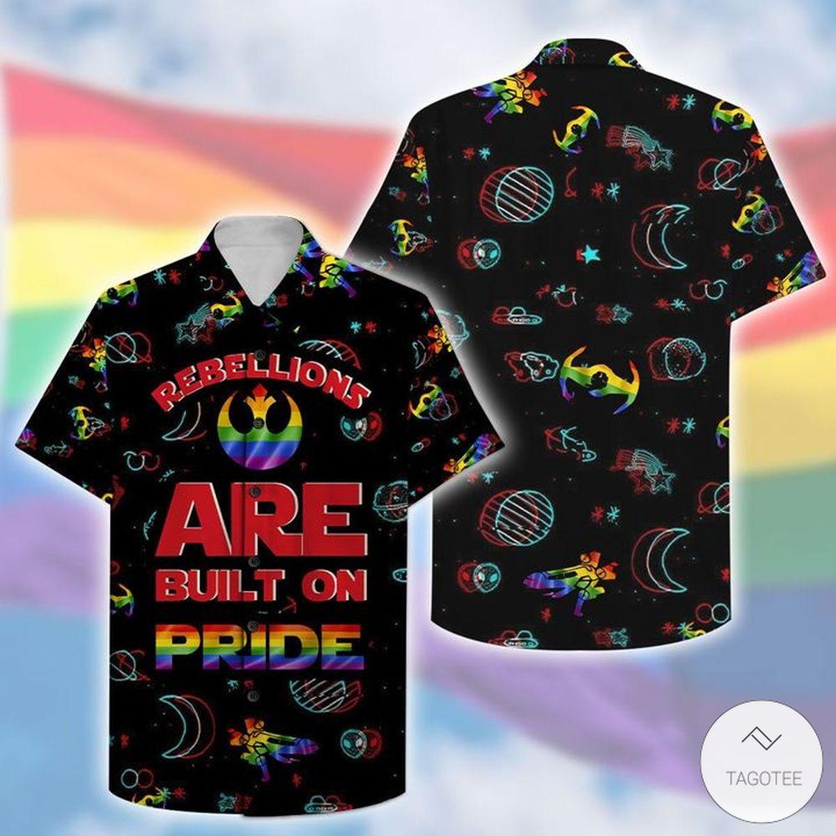 Rebellions Are Built On Pride LGBT Hawaiian Shirt