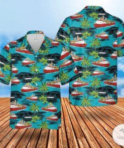 Rn Hms Protector (A173) Hawaiian Shirt, Beach Shorts
