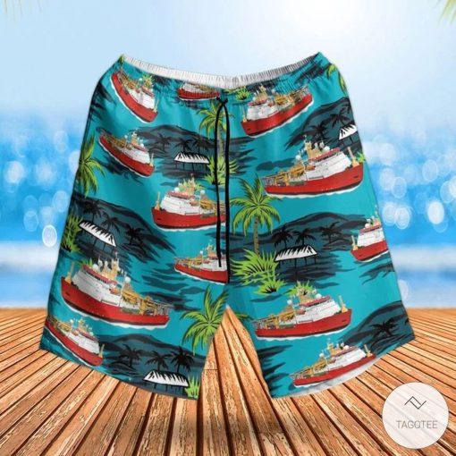 Rn Hms Protector (A173) Hawaiian Shirt, Beach Shortsz
