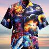 Rocket Galaxy Hawaiian Shirt