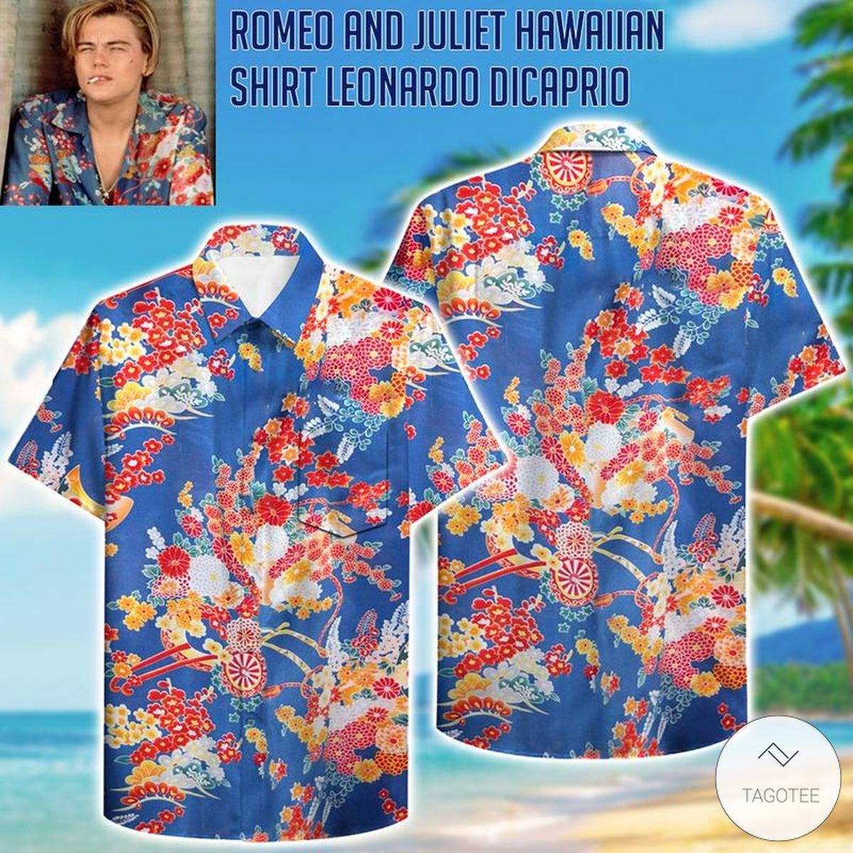 Romeo and Juliet Hawaii Shirt Leonardo DiCaprio Shirt Hawaiian Shirt