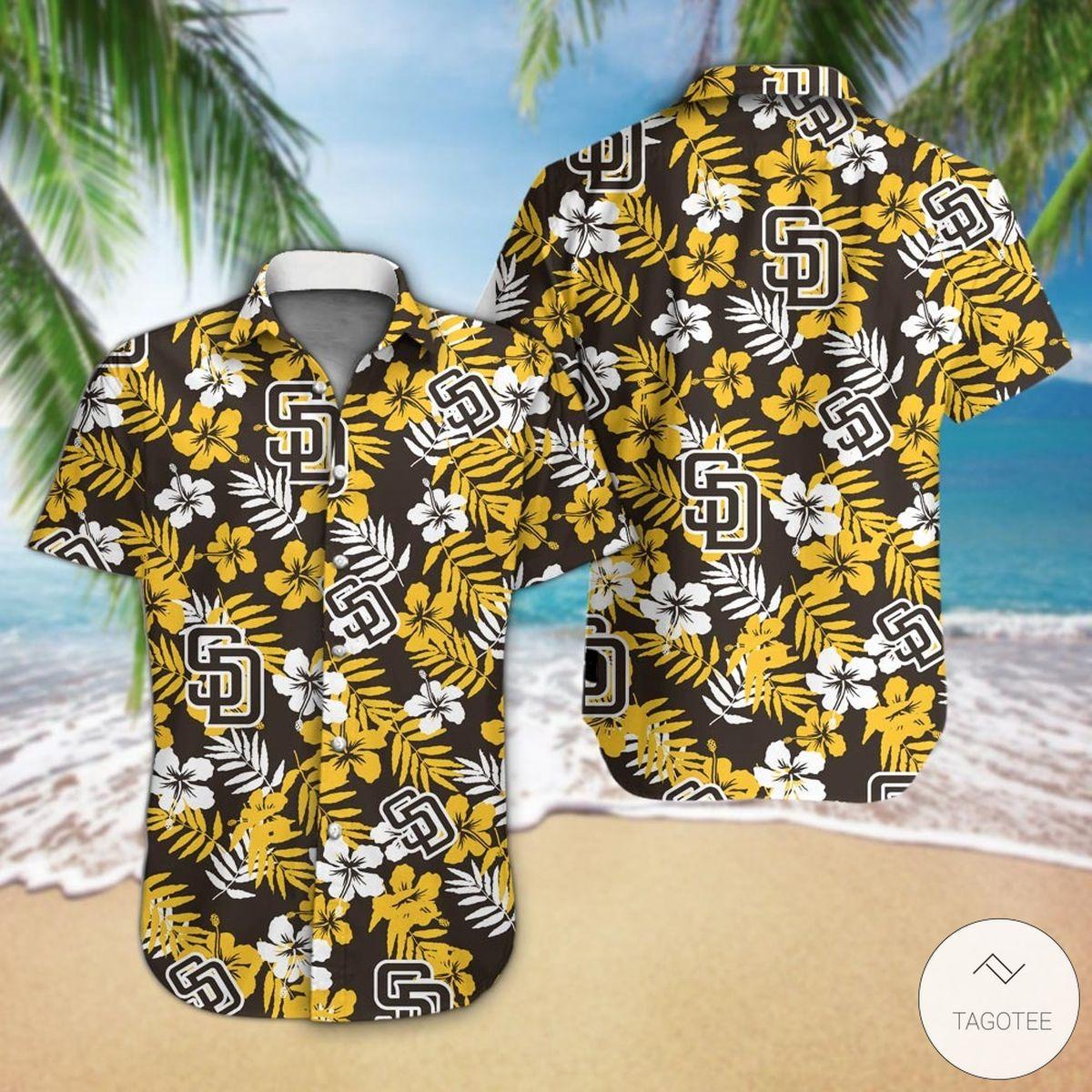 San Diego Padres Hawaiian Shirt
