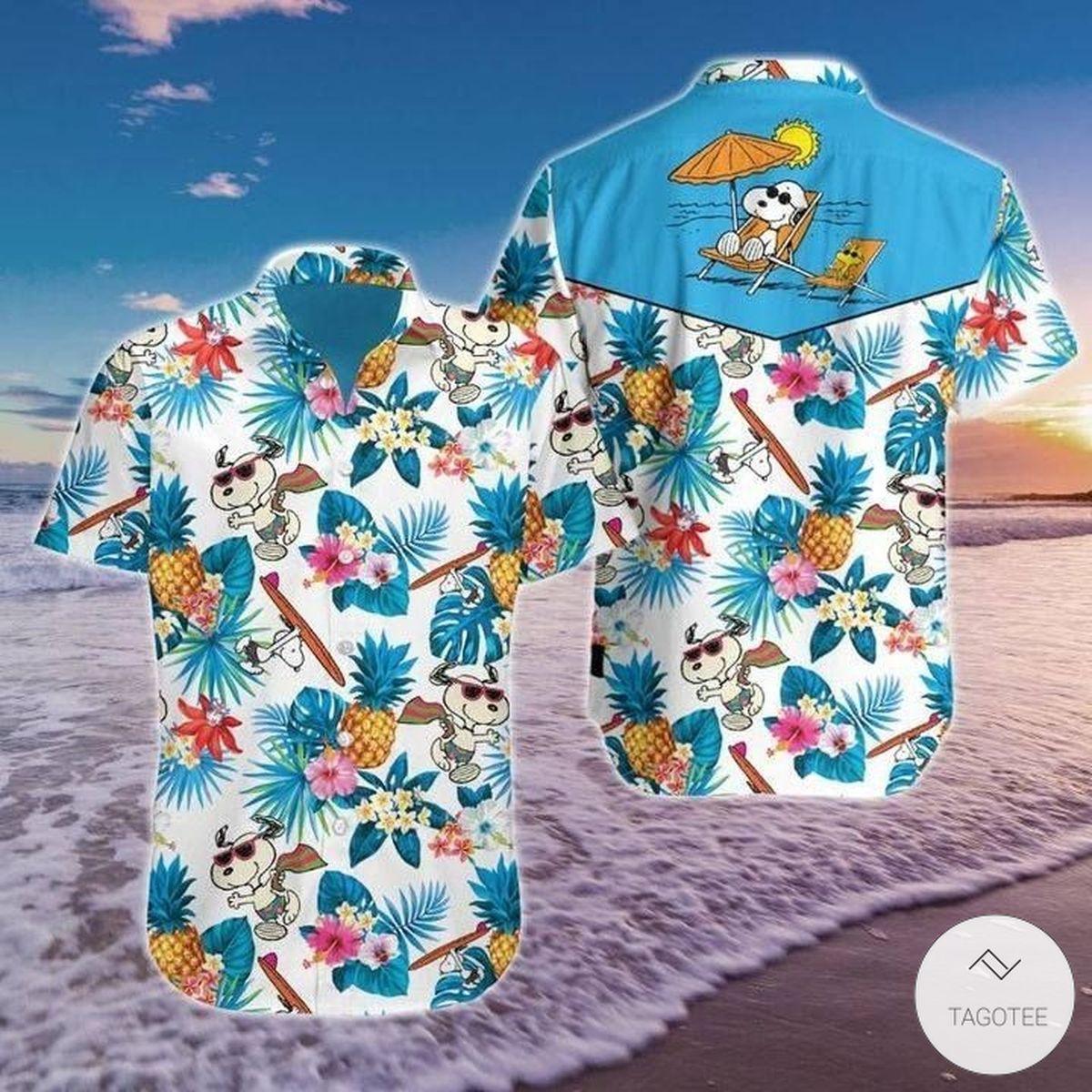 Snoopy Tropical Summer Hawaiian Shirt