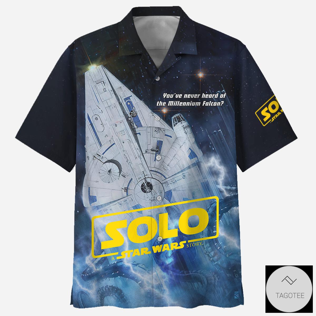 Solo Star Wars Hawaiian Shirt