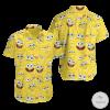 Spongebob SquarePants Hawaiian Shirt, Beach Shorts