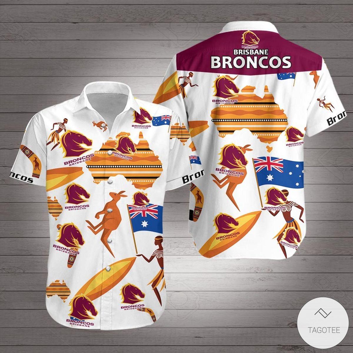 St. George Illawarra Dragons Hawaiian Shirt