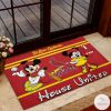 St. Louis Cardinals House United Mickey Mouse And Minnie Mouse Doormat