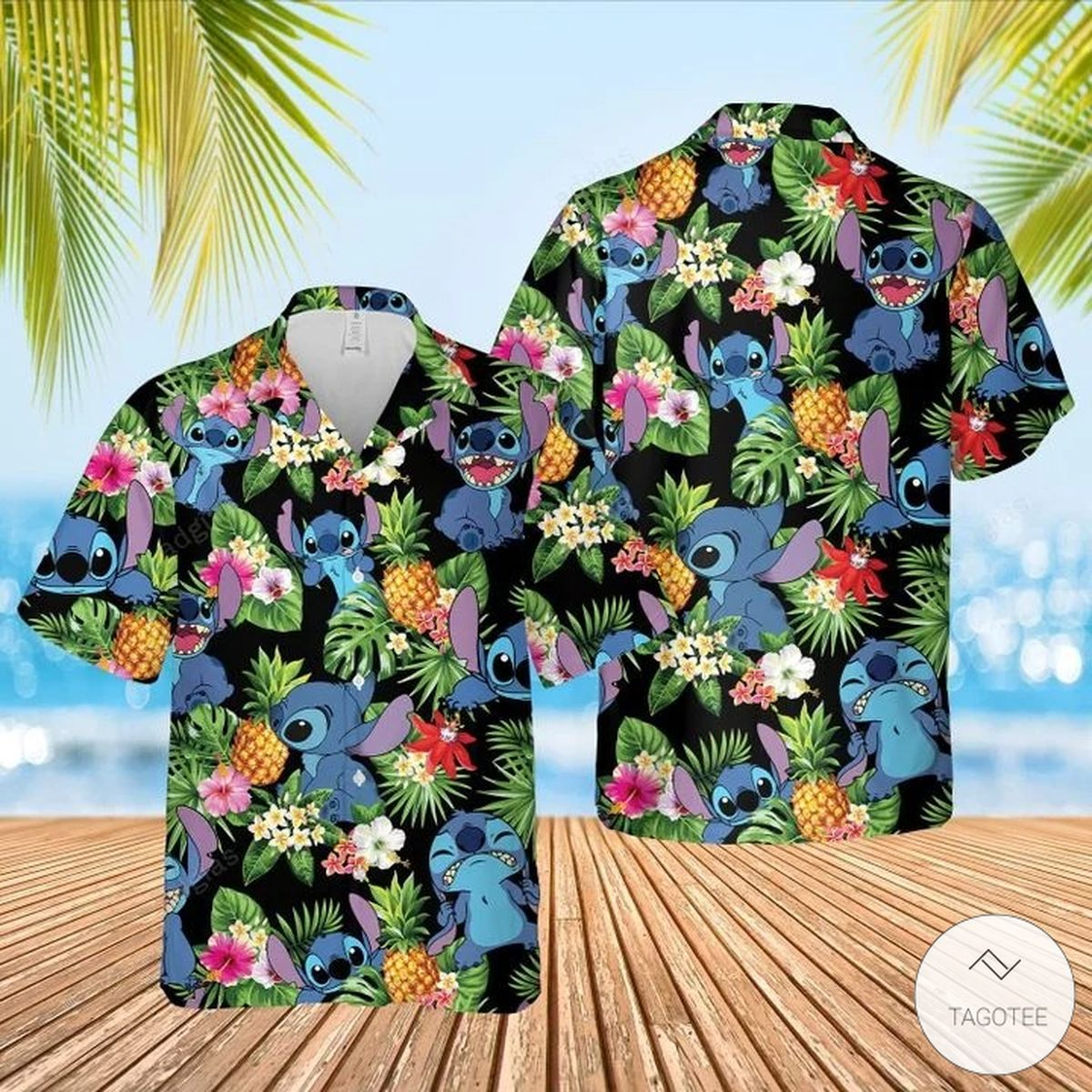 Stitch Aloha Hawaiian Shirt