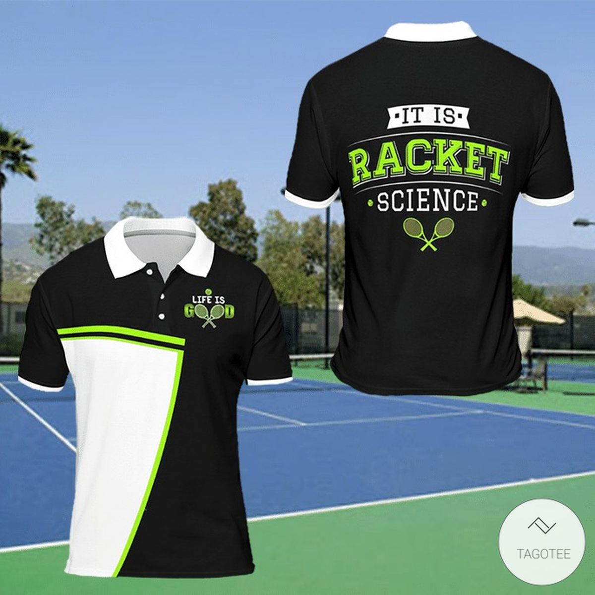 Tennis It Is Racket Science Polo Shirt