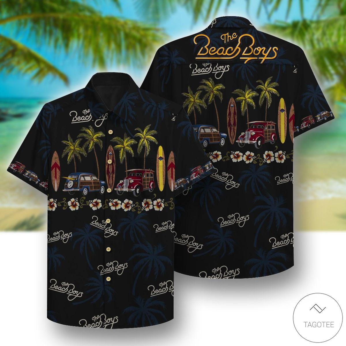 The Beach Boys Hawaiian Shirt