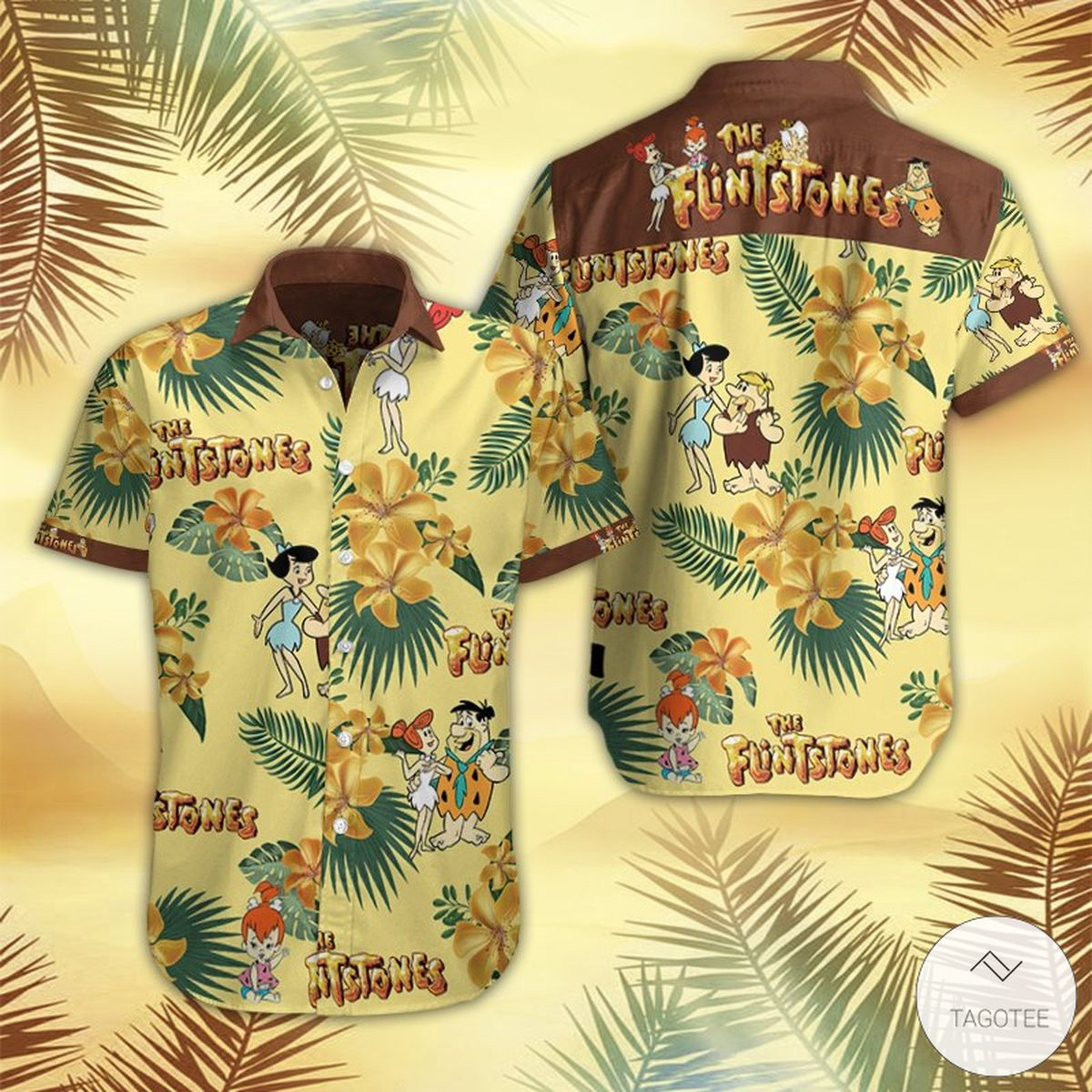The Flintstones Hawaiian shirt
