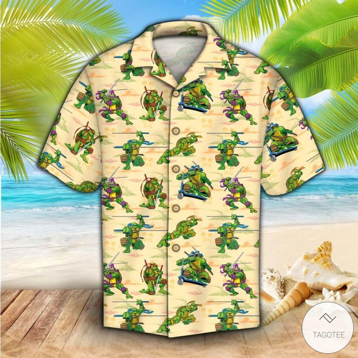 Only For Fan The Teenage Mutant Ninja Turtles TMNT Hawaiian Shirt