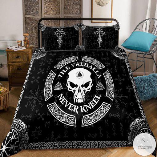 Till Valhalla Never Kneel Bedding Setx