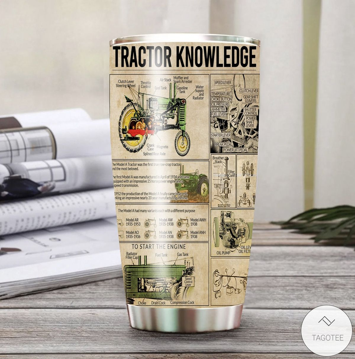 Tractor Knowledge Tumbler