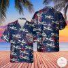 US Air Force Fairchild Republic A-10 Thunderbolt II 4th Of July Hawaiian Shirt