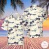 US Air Force General Atomics MQ-9 Reaper Hawaiian Shirt, Beach Shorts