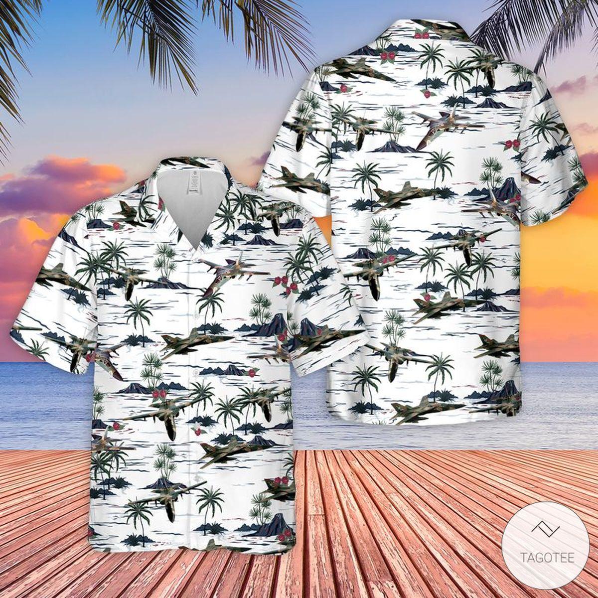 United States Air Force General Dynamics F-111 Aardvark Hawaiian Shirt, Beach Shorts