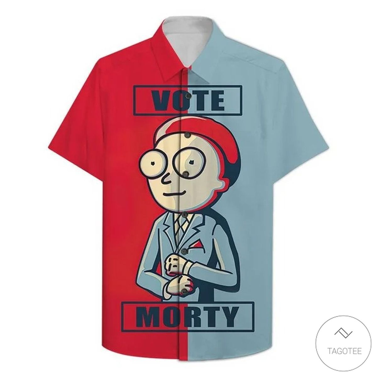 Vote Morty Smith Hawaiian Shirt